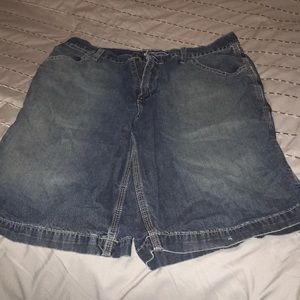 Old navy men's jean shorts